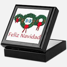 Guatemala Christmas 2 Keepsake Box