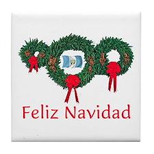Guatemala Christmas 2 Tile Coaster