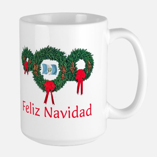Guatemala Christmas 2 Large Mug