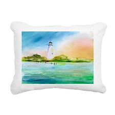 Ocracoke NC Rectangular Canvas Pillow