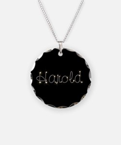 Harold Spark Necklace Circle Charm