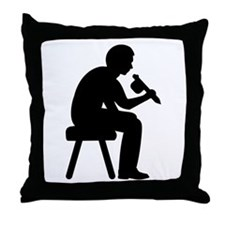 Tattoo artist Throw Pillow