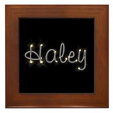Haley Spark Framed Tile
