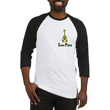 Save Pluto Yellow Baseball Jersey