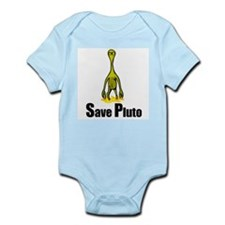 Save Pluto Yellow Infant Creeper