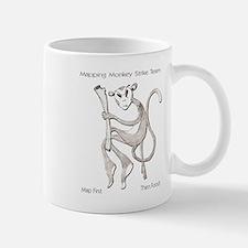Mapping Monkey Strike Team Mug