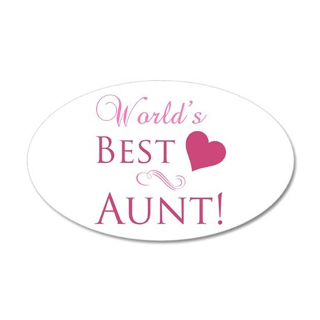 Best 20 Lettering Decals For The Wall World39s Best Aunt Heart Wall ...