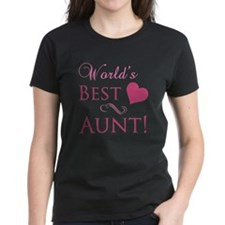 World's Best Aunt (Heart) Tee