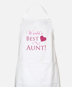 World's Best Aunt (Heart) Apron