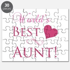 World's Best Aunt (Heart) Puzzle