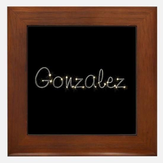 Gonzalez Spark Framed Tile