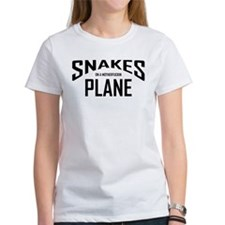 Unique Snake on a plane Tee
