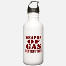 Weapon of Gas Destruction Water Bottle