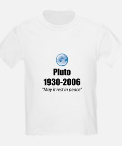 Pluto Rest in Peace Kids T-Shirt