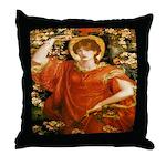 A Vision of Fiammetta Throw Pillow