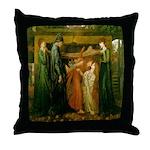 Dante's Dream of Beatrice Throw Pillow