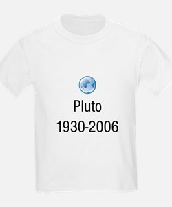 Pluto 1930 to 2006 Kids T-Shirt