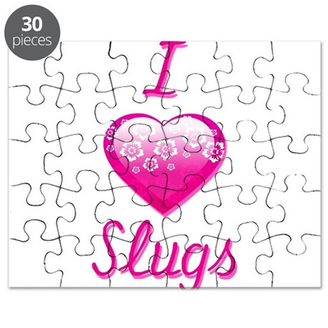 I Love/Heart Slugs Puzzle
