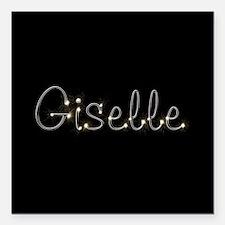 """Giselle Spark Square Car Magnet 3"""" x 3"""""""