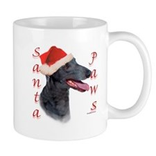 Santa Paws Greyhound Small Mug