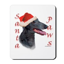 Santa Paws Greyhound Mousepad
