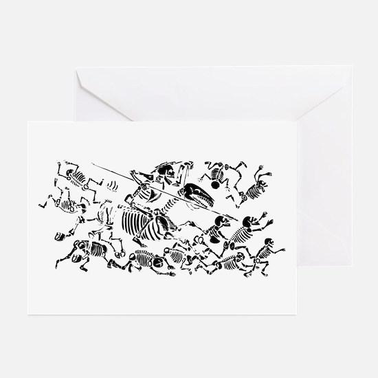 Don Quixote 3 Greeting Cards (Pk of 10)