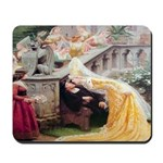 A Kiss From the Bride Mousepad