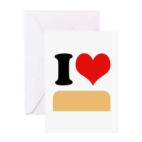 I heart twinkies Greeting Card