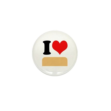 I heart twinkies Mini Button