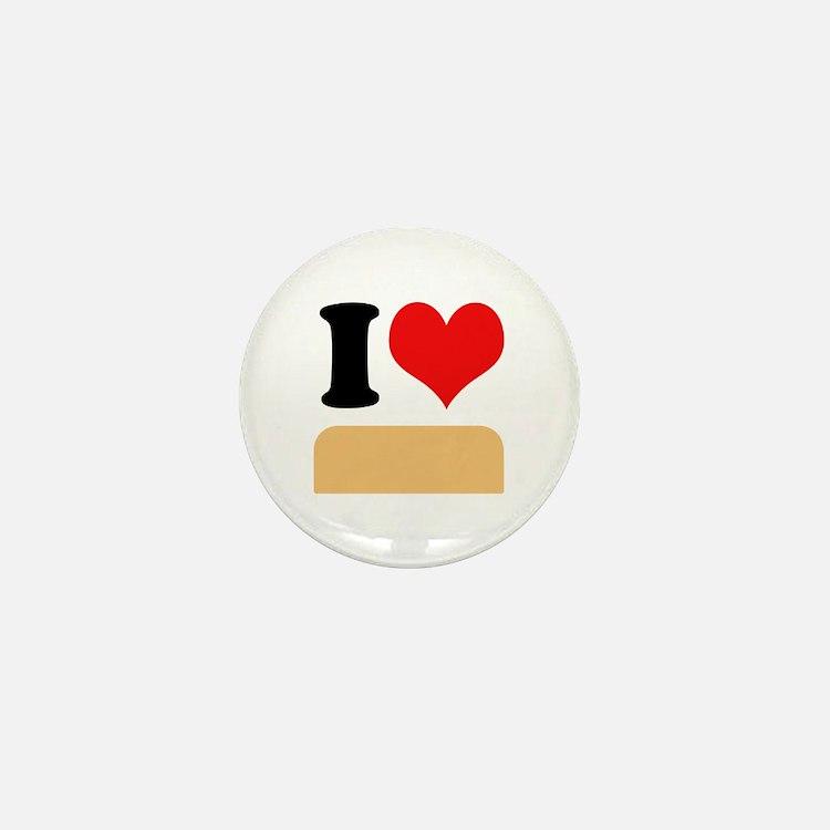 I heart twinkies Mini Button
