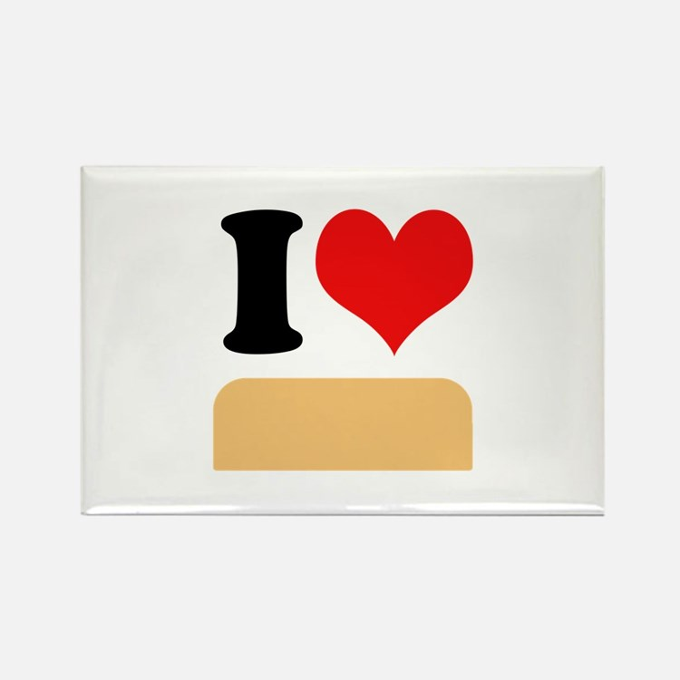 I heart twinkies Rectangle Magnet