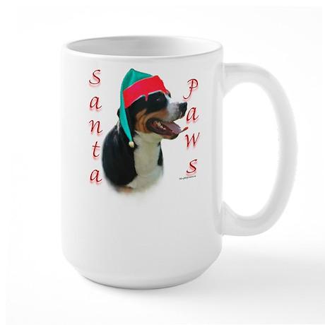 Santa Paws Swissy Large Mug
