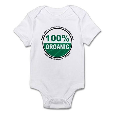 100% Organically Grown Baby - Infant Creeper