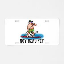 Paddle Board Grampy Aluminum License Plate