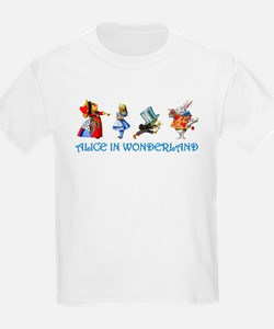 Alice and Her Friends in Wonderland T-Shirt