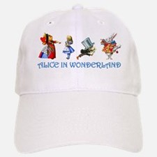 Alice and Her Friends in Wonderland Baseball Baseball Cap