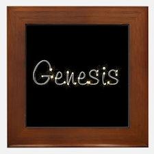 Genesis Spark Framed Tile