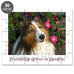 Friendship Grows In Gardens Puzzle