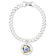 Penguin Medic Charm Bracelet, One Charm
