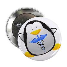 "Penguin Medic 2.25"" Button"