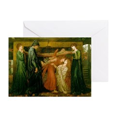 Dante's Dream of Beatrice Cards (Pk of 10)