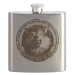 Make Out With That...Moose Flask