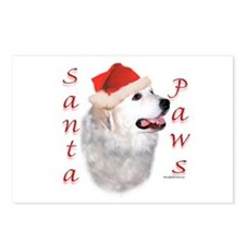 Santa Paws Pyrenees Postcards (Package of 8)