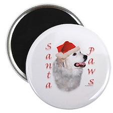 Santa Paws Pyrenees Magnet