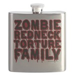 Zombie Redneck Torture Family Flask