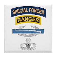 SF Ranger CIB Airborne Master Tile Coaster
