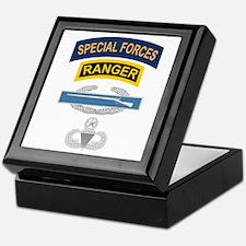 SF Ranger CIB Airborne Master Keepsake Box