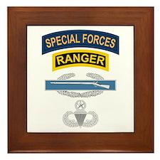 SF Ranger CIB Airborne Master Framed Tile