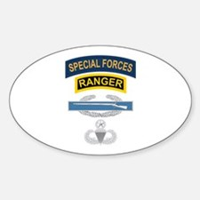 SF Ranger CIB Airborne Master Decal