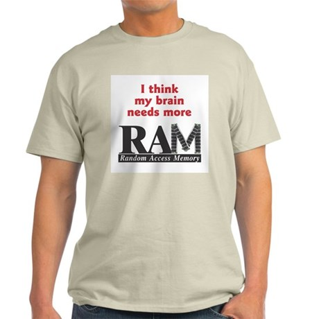 RAM 2 Ash Grey T-Shirt